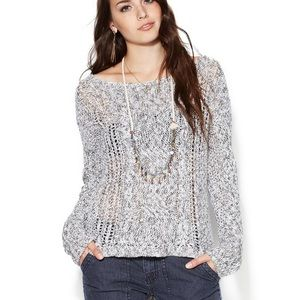 Free People Pegasus Knit West End Pullover Sweater